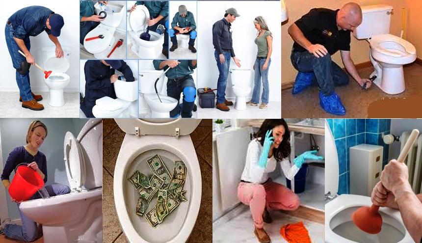 Отпушване на тоалетни от ПроКанал ЕООД